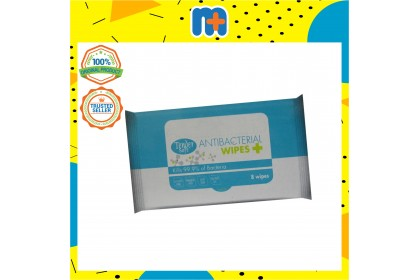 [MPLUS] Tender Soft Antiseptic Wipes 200Mm X 150Mm 8S